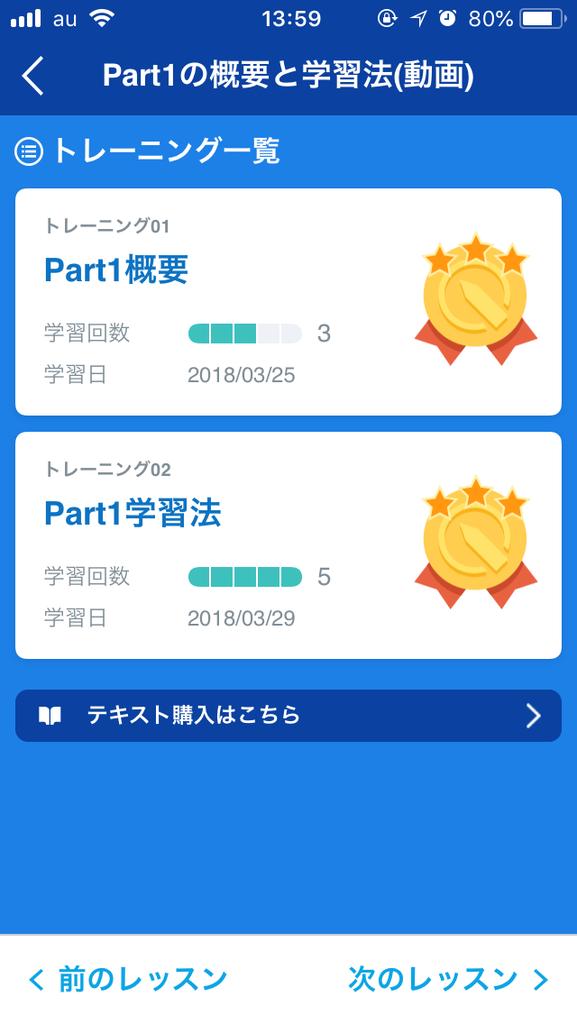 スタディサプリ Part別コンテンツ